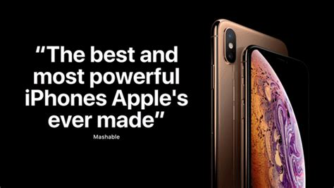 iphone xs and iphone xs max the reviews are in apple
