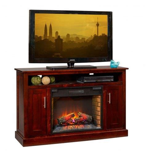 elm park 57 quot electric fireplace tv stand from
