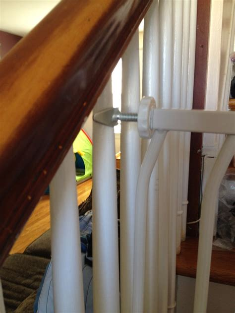 safety gate for stairs with banister 17 best images about baby gates on pinterest safety
