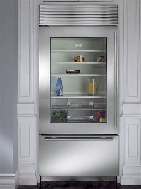 Best 25  Glass front refrigerator ideas on Pinterest
