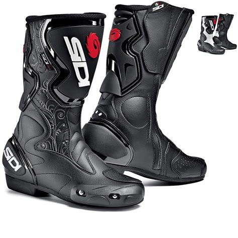 sidi motorcycle boots sidi fusion ladies motorcycle boots race sport boots