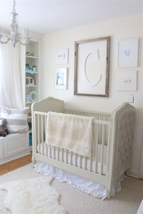 Grey And White Bedrooms camden s cream and white nursery project nursery