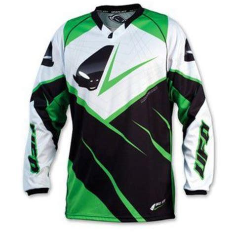 kawasaki motocross jersey cross enduro jersey ufo mx 23 micron jersey color green