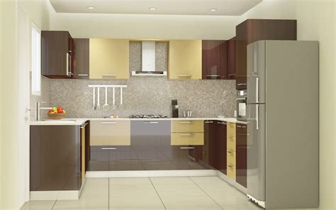 Modular Kitchens Designs by Modular Kitchen Designs 4 Ways To Go Glossy Homelane