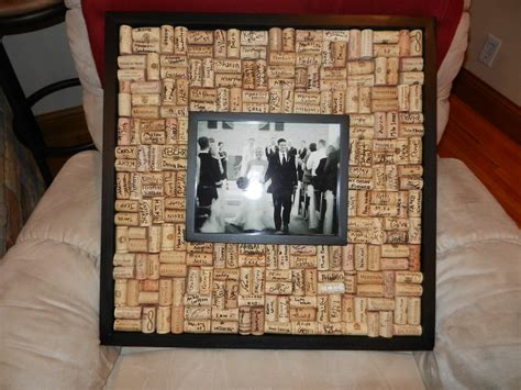 picture frame guest book ideas wedding guest book wine corks archives beautifully nutty