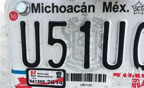 placas nuevas de michoacan 2016 no al canje de placas michoac 225 n