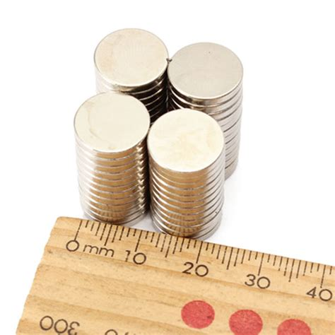 Strong Magnet Neodymium 12x2mm Silinder Diameter 12 Tebal 2 Mm N52 50pcs strong disc earth neodymium magnets n48 12x2mm alex nld