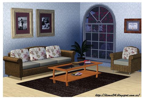 Sims 3 Living Room Sets My Sims 3 Vintage Living Room Set By Kima