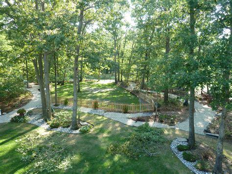 backyard woods landscaping bob johnson