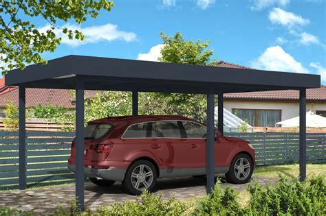 Aluminium Carport by Carport Toit Plat Carport Aluminium Abri De Voiture