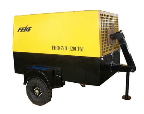 china portable diesel air compressor 120cfm china portable air compressor diesel air compressor