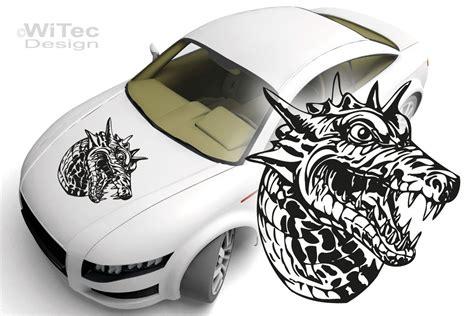 Autoaufkleber Drachen Motorhaube by Autoaufkleber Drache Dragon Auto Aufkleber