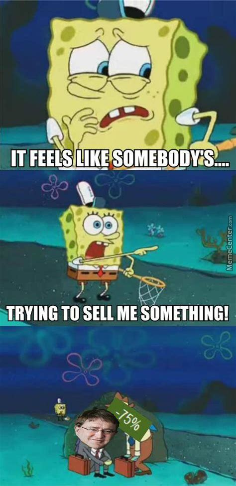 not even spongebob was safe from the sales by gardevoid