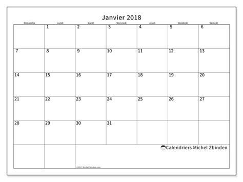 Calendrier 2018 Michel Zbinden Calendrier Janvier 2018 53ds