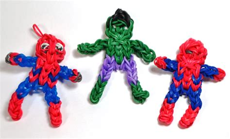 Rainbow Loom? Super Action Figures   fall under the Rainbow Loom? spell