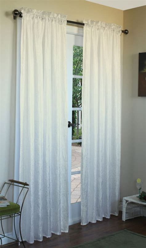 105 inch curtains briana curtain ivory 48 inches x 84 inches 70547 105