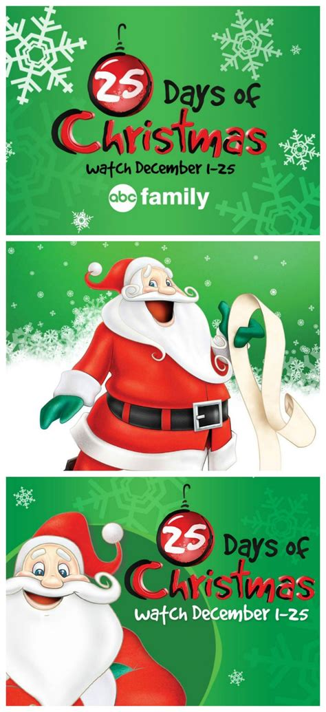 abc family christmas movies schedule