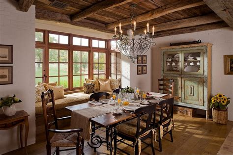 Dining Room Ideas Country Country Decorating For A Better Look