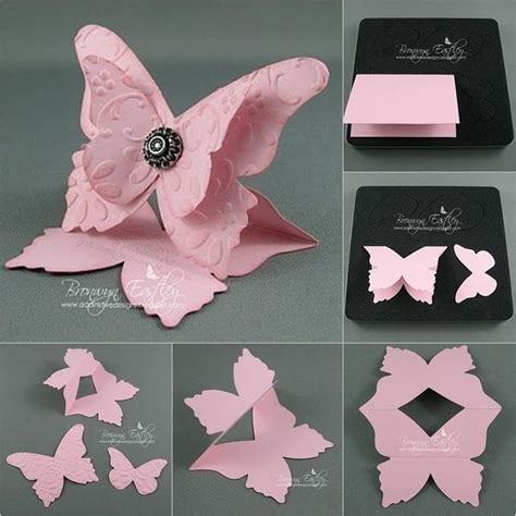 how to make a card fly around you 25 unique flying butterfly card ideas on