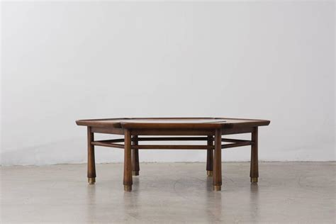 drexel coffee table hexagonal coffee table by drexel heritage circa 1968 at