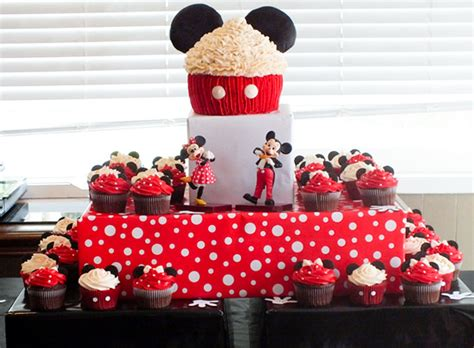 mickey mouse cupcake cake  sisters