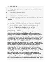 contoh format penulisan tugasan - 1.0 PENGENALAN