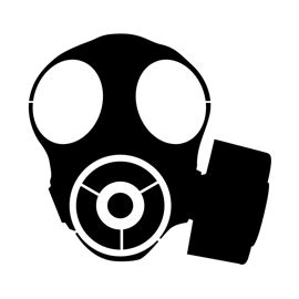 gas mask outline stencil related keywords suggestions