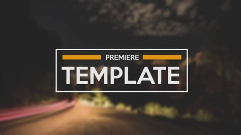 Great Adobe Premiere Pro Templates Photos Gt Gt Templates After Effects Premiere Pro By Wbolanosco Adobe Premiere Templates Wedding