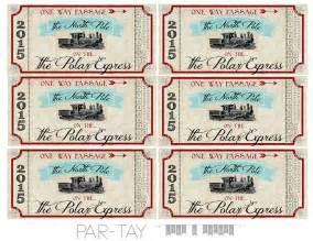 polar express tickets free printable like a