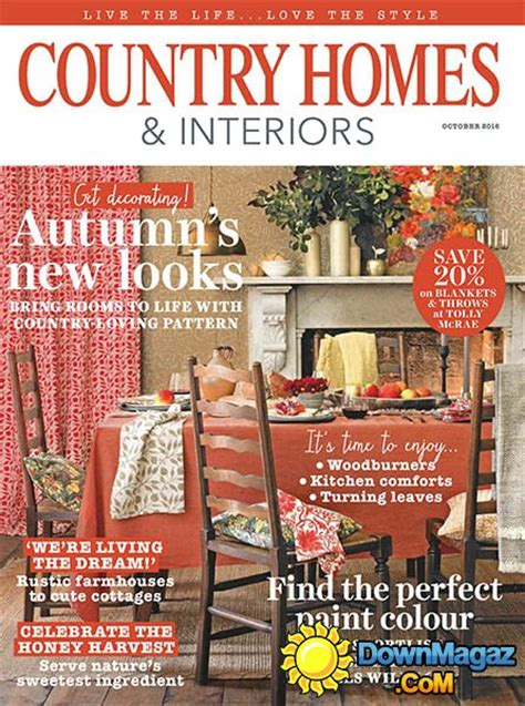 country home design magazines country homes interiors october 2016 187 download pdf
