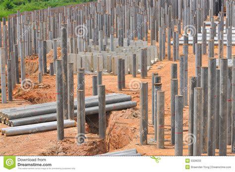 Concrete Business Cards construction piling series 6 stock photos image 5328033