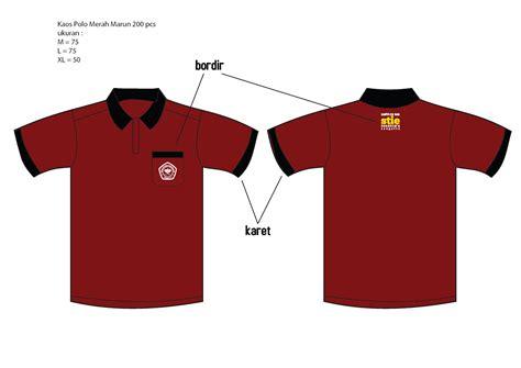 Kaos Polo Maroon 1 order kaos polo merah marun cetak offset dan digital