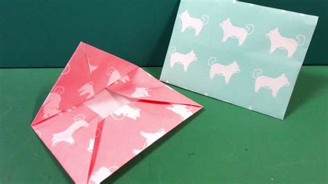 easy origami for new year easy origami new year gift bag folding method 簡単折り紙 ポチ袋の折り