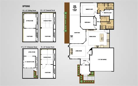 epcon floor plans models the villas at park place epcon communities