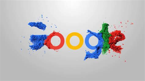 Google Logo Animation Adobe After Effects Template Youtube Logo Animation After Effects Template