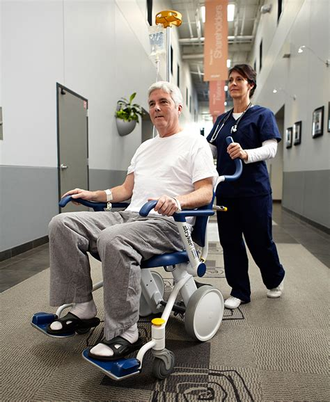 michael reimagines the wheelchair for both patient