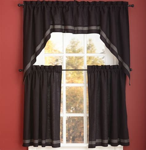 curtains 24 x 36 berry crock window curtain swag 72 quot x 36 quot