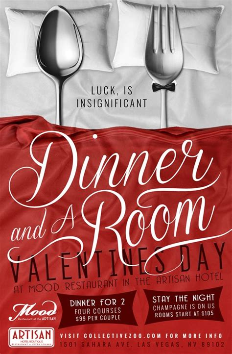 day restaurant promotions dinner and a room valentine s day posted on january 30