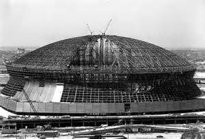 When Was The Mercedes Superdome Built Construction Of The Mercedes Superdome Now A Landmark