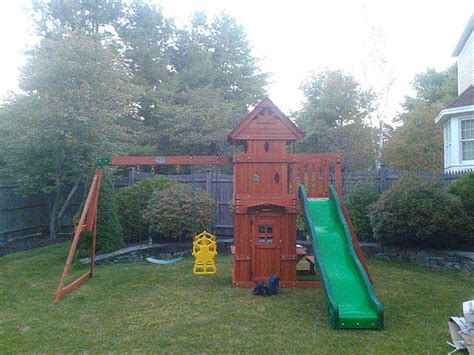 backyard discovery monterey playset assembler and swing set installer in yarmouth me
