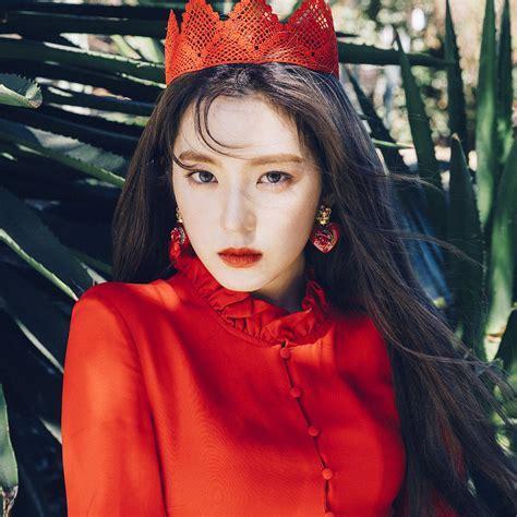 ho66 red velvet girl kpop summer bokeh wallpaper