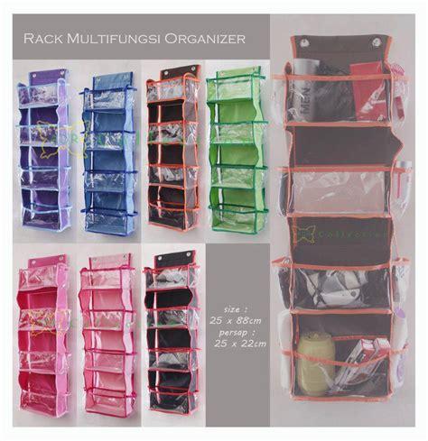 Rak Multi Organizer gantungan jilbab rak tas rak sepatu rak helm