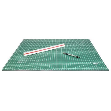 1 self healing rubber mat self healing cutting mat reversible green black 36 quot x48 quot