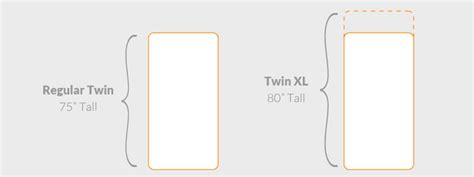 how long is a twin bed how big is a twin xl bed 28 images twin xl bed frame