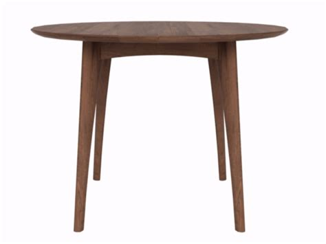 ethnicraft walnut osso round dining table counter height walnut osso round table by ethnicraft