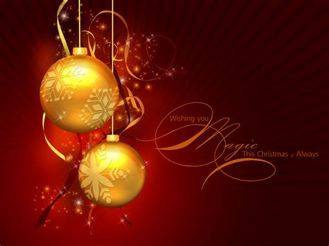 wallpaper christmas balls 36 christmas wallpapers free two golden christmas balls on