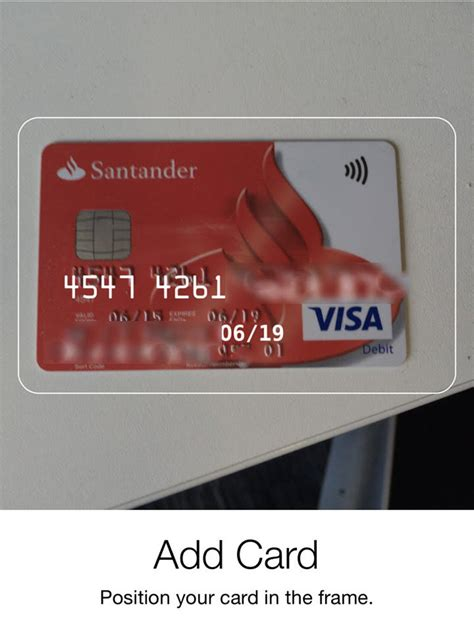santander bank clever card where is my account number on santander debit card