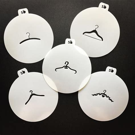 Hanger Set Murah 3 In 1 Motif Resleting hanger minis stencil available individually or set of 5