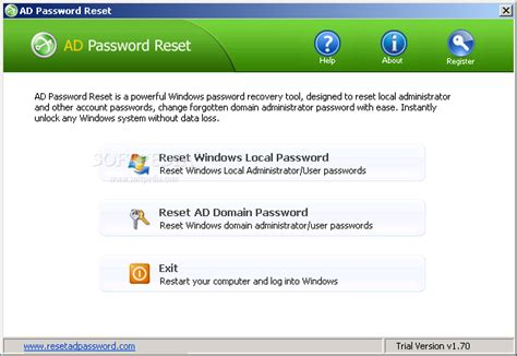 reset windows password serial key download ad password reset 1 70 incl crack serial keygen