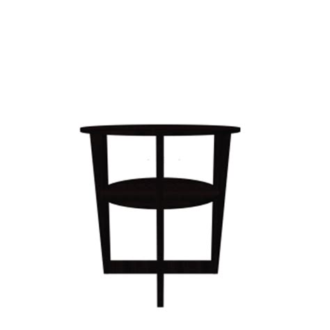 Vejmon Side Table Vejmon Side Table Black Brown Design And Decorate Your Room In 3d